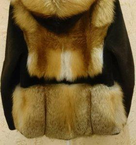 Куртка из меха лисы и стриженного бобра, торг