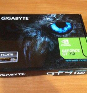 Видеокарта GigaByte GeForce GT 710