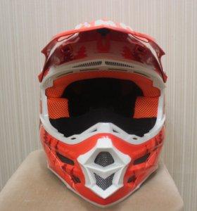 Шлем для водителя снегохода HMK Orange