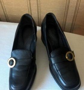 Туфли, натуральная кожа. Новые.