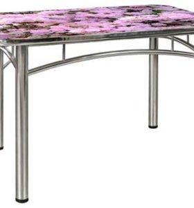 Хромированные столы и стулья. Заказ.