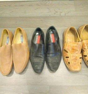 Мужская обувь летняя размер 39-40