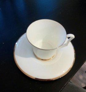 Чашка с блюдцем из сервиза