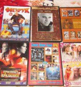 Продам диски DVD и CD