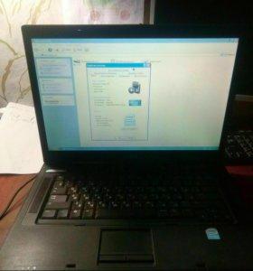 Ноутбук HP. Рабочий. С блоком питания.