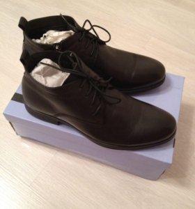 Ботинки Benetti мужские зимние новые