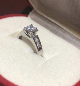 Кольцо женское Серебро Новое