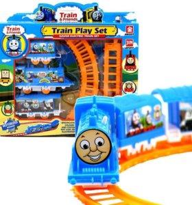 Детская железная дорога. Новая.