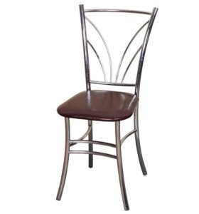 Хромированные, качественные стулья
