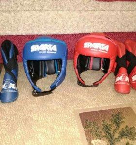 Шлем размер S, футы размер 34