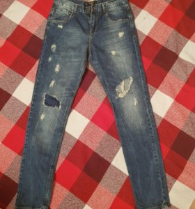 Бойфренд джинсы