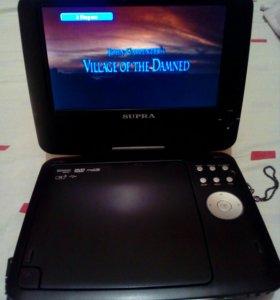Портативный DVD плеер со встроенным ТВ-тюнером