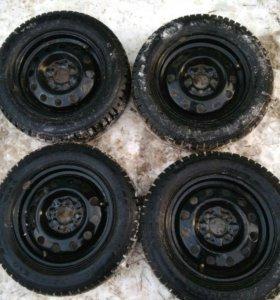 Колеса 14 диаметр , комплект