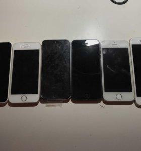Продам или обменяю iPhone 5, 5c, 5s.