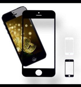 Стекло iphone 5(тайчскрин)