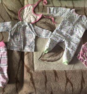 Вещи для девочки( пакетом )