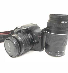 Фотоаппарат Cannon 550D