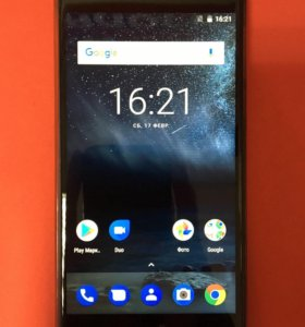 Nokia 5 (2017) TA-1053 Tempered Blue (Комплект)
