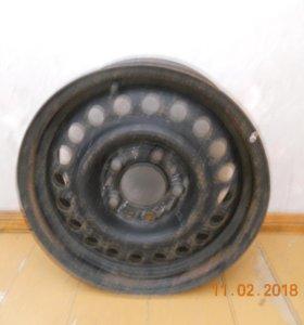 Колёсный диск стальной,штамповка R 15