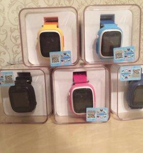 Умные детские часы Q90