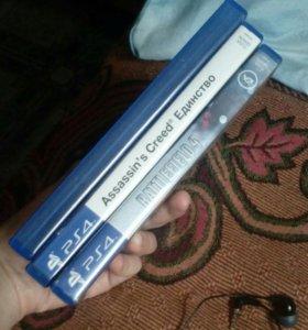 Игры на PS4.