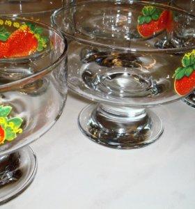 Набор креманок для мороженого