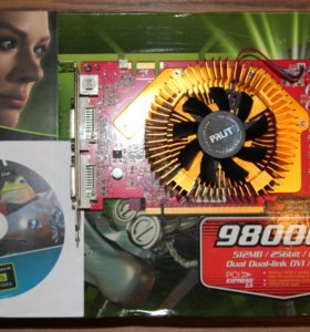 Видеокарта Palit GeForce 9800 GT