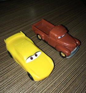 Машинки Тачки 3 Выхлоп и Крус Рамирес