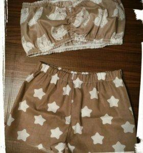 Пижама Совы и звёзды