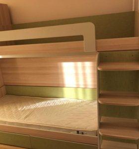 Двухъярусная кровать доставка