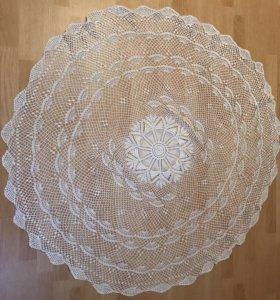 Скатерть круглая на стол,диаметр-125 см