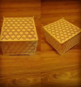 Шкатулки, коробочки, органайзеры