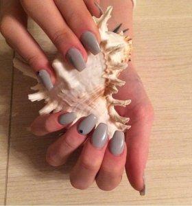 Гель-лак Наращивание ногтей