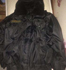 Куртка (Охранник) б/у