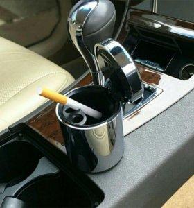 Пепельница в машину с подсветкой.