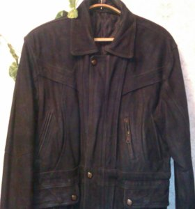 куртка мужская кожаная удлиненная