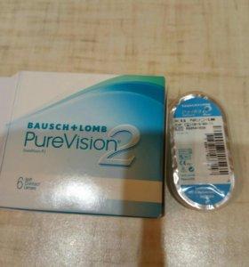 Продаются контактные линзы PureVision2