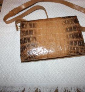 сумка из кожи крокодила