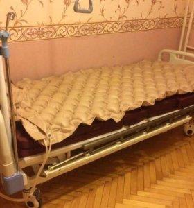 Медицинская кровать, 4 секции