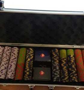 Покерный набор Pokerstars (500 фишек)