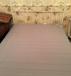 Кровать Ikea +матрац