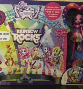 Новый набор Rainbow Rocks для девочек