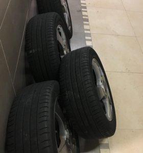 Летние колёса на дисках Kia seed