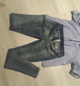 Рубашка+джинсы mango