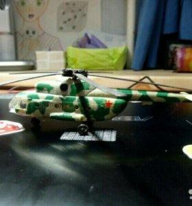 Вертолет и машинка