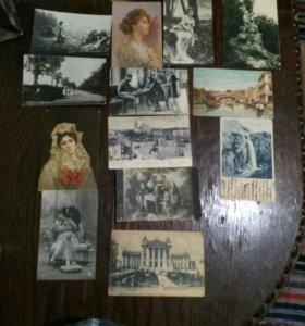 Продам почтовые карточки разный год