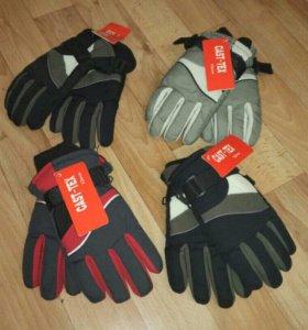 Перчатки зимние новые 6-8 лет