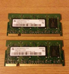 Оперативная память HYS 512MB