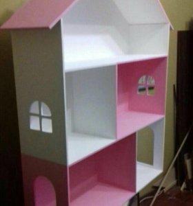 Кукольный дом из дерева