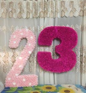 Цифры 2 и 3